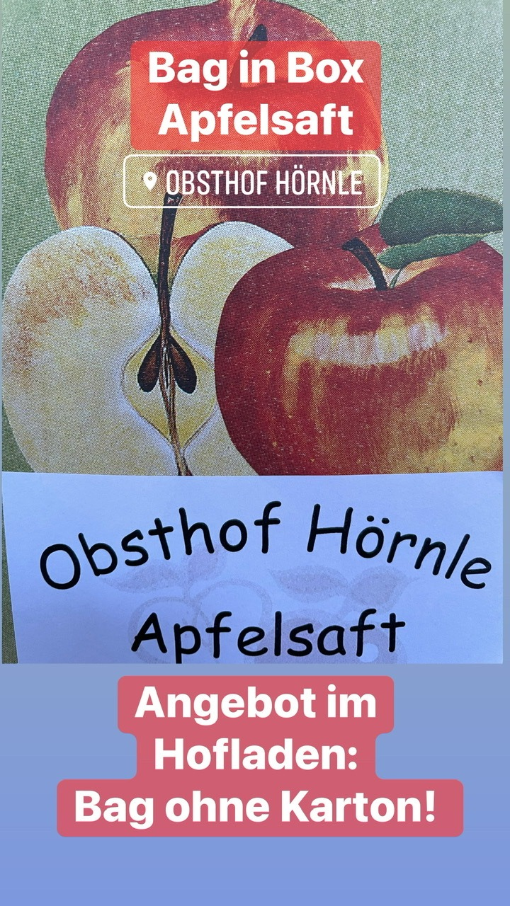Read more about the article Apfelsaft Bag in Box