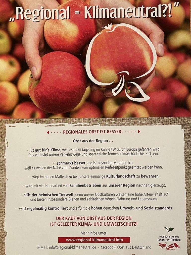Apfelverteilaktion